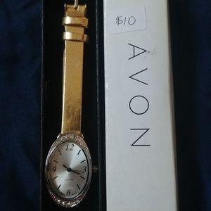 Avon Everyday Elegance Gold Watch